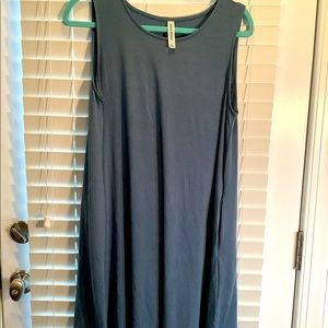 New Zenana Premium swing dress, Large
